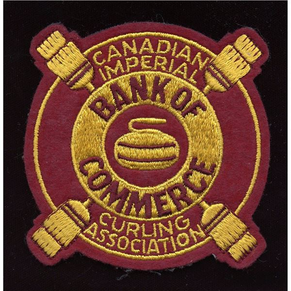 CIBC Embroidered crest