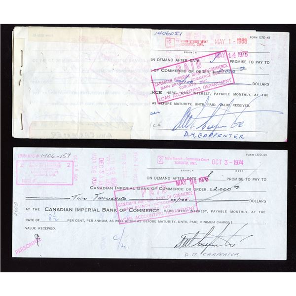 Demand Note - April 23, 1957