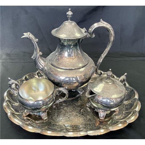 CIBC Long Time Employee Service Recognition Tea Set