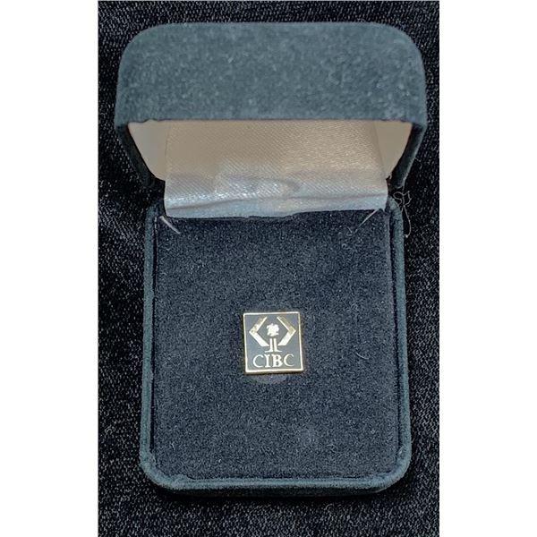 CIBC Gold Long Term Service Pin
