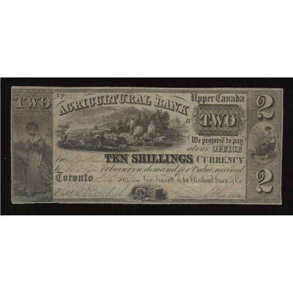 Agricultural Bank $2 1835