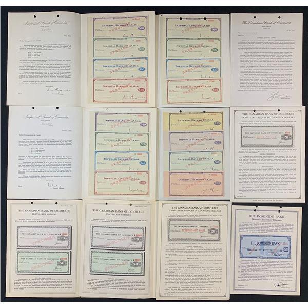 Miscellaneous Chartered Bank Specimens and Ephemera