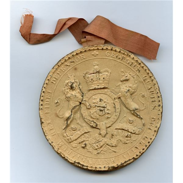 Great Seal Deputed of Lower Canada of George III, 1793