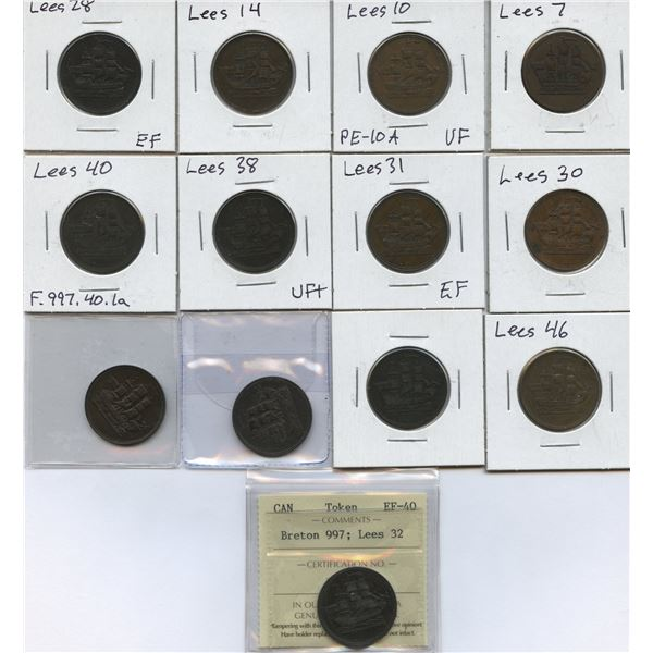 Lees Lot of 13 Tokens