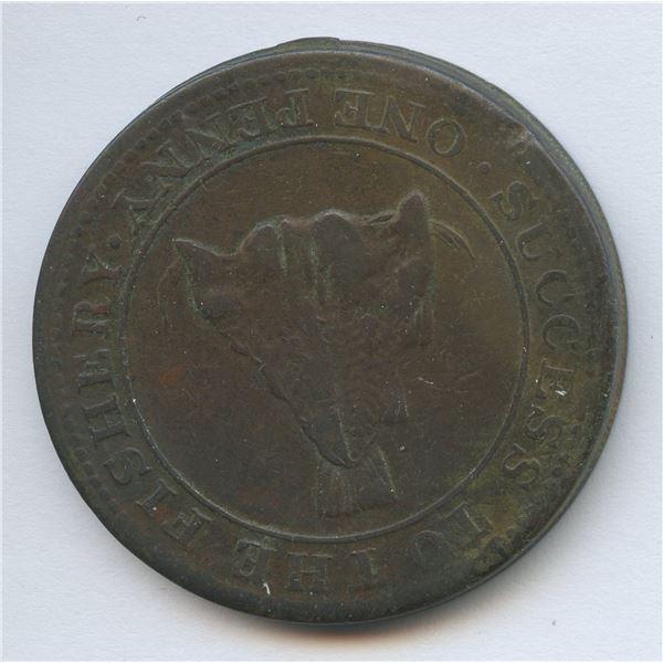 BR 520, Magdalen Island Penny