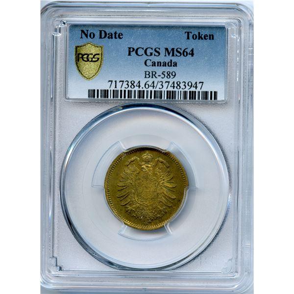 BR 589, Gesangverin Teuteutonia 5 Cents