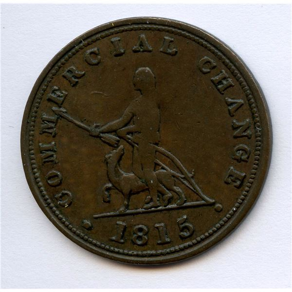 BR 885, NS-12 Commercial Change Halfpenny