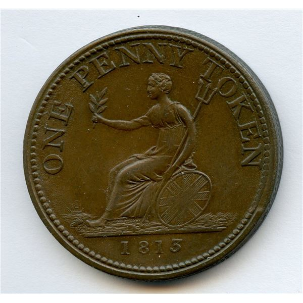 BR 984, WE-12 One Penny Token