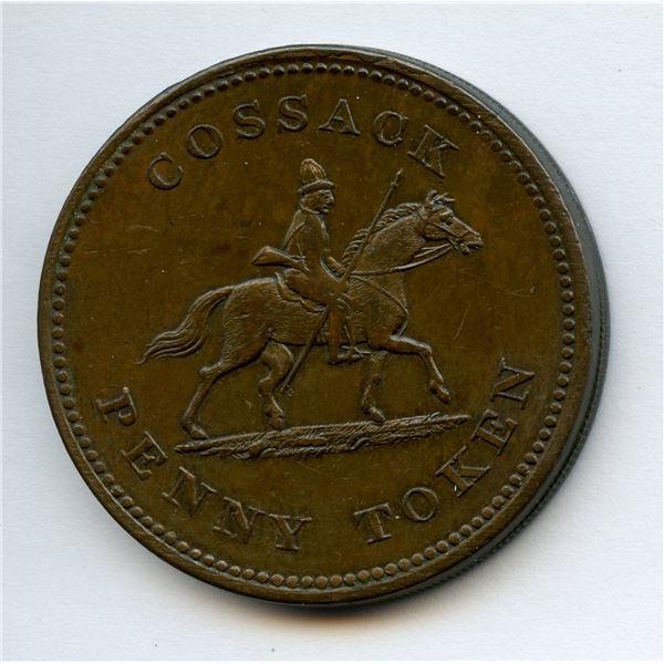 BR 985, WE-13  Cossack Penny Token