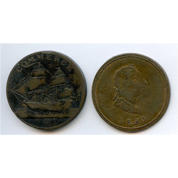 Lot of 2 Tokens