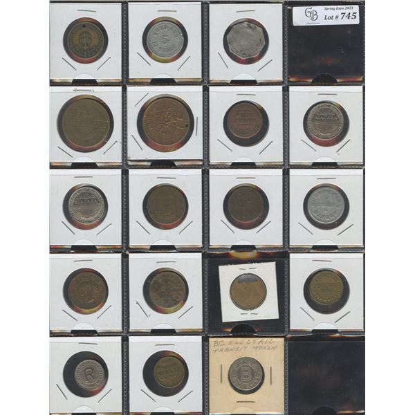 Mix of 18 unattributed tokens.