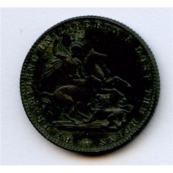 Death of King William IV, 1837, By Trampling on Liberty I Lost The Reins