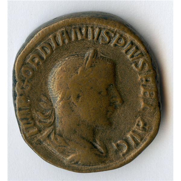 Roman Imperial - Gordian III. 238-244 AD. AE Sestertius