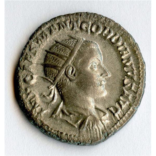 Roman Imperial - Gordian III. 238-244 AD. AR Antoninianus