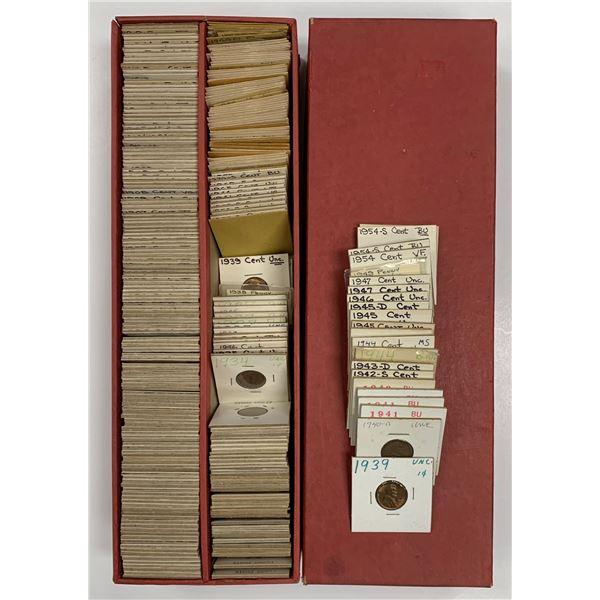 United States 1 Cent 1859-1963 Dealer Lot