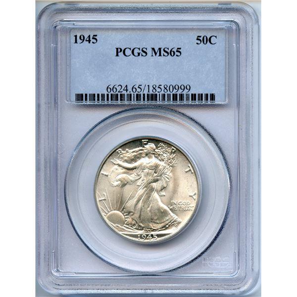 1945 High Grade USA Half Dollar