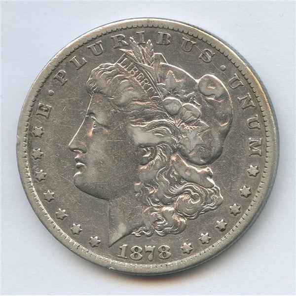 1878cc USA Morgan Silver Dollar