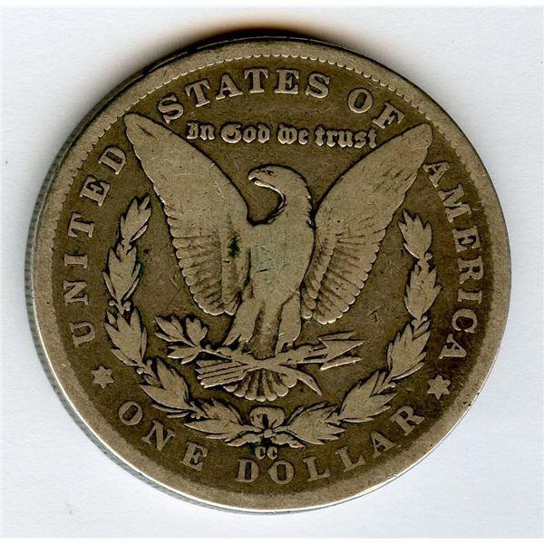 1891cc USA Morgan Silver Dollar