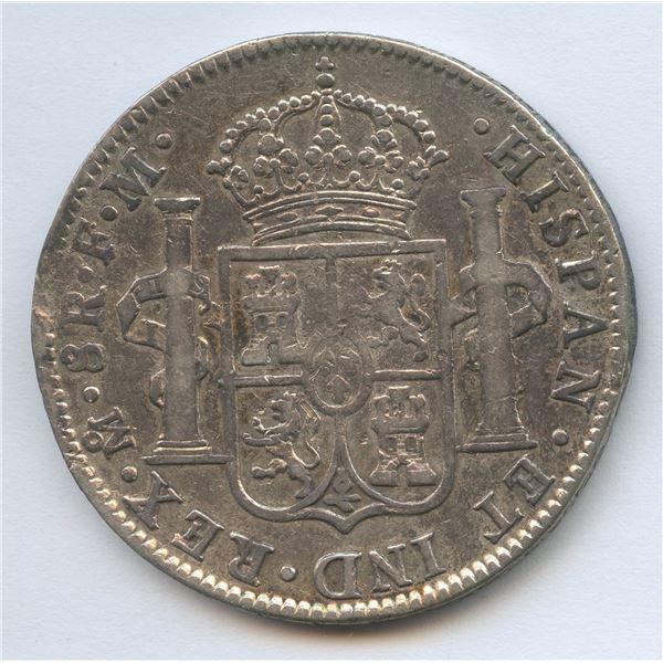 1801 Silver Mexico 8 Reales MO FM