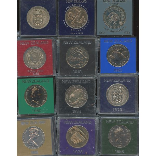 New Zealand - Lot of 25 Coins