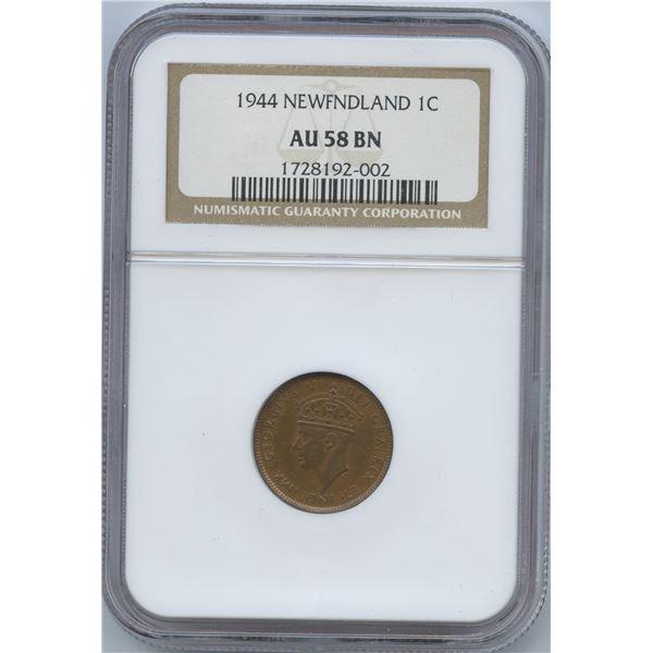 1944 Newfoundland One Cent