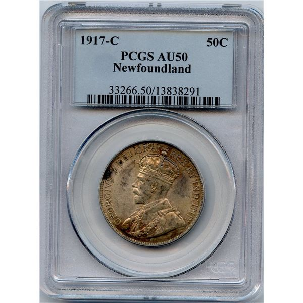 1917c Newfoundland Fifty Cents