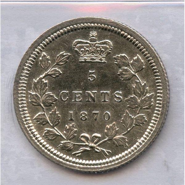 1870 Five Cents