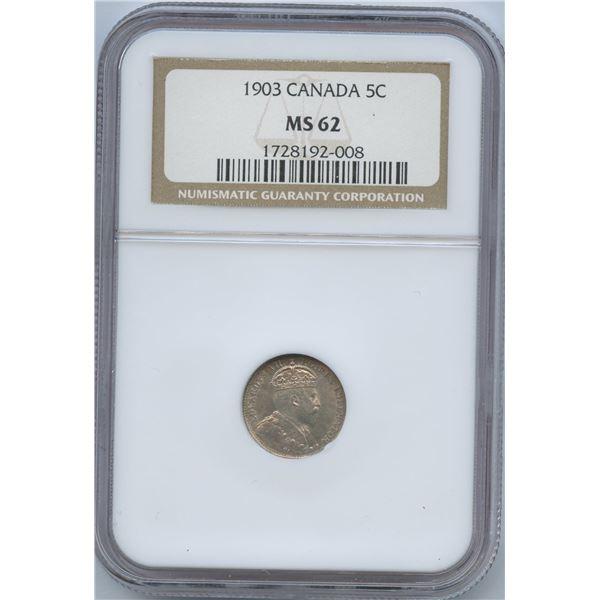 1903 Five Cents