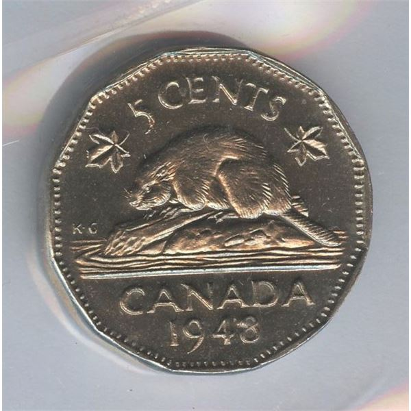 1948 Five Cents