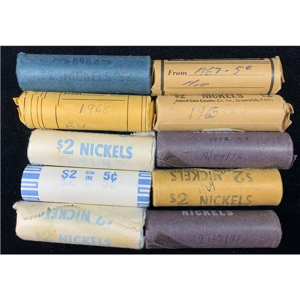 Canada 5 Cent Roll Lot