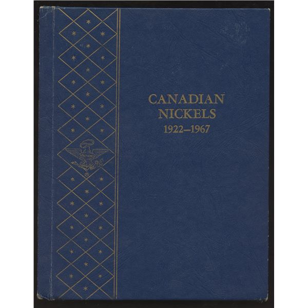 Canadian Nickel Collection in Whitman Folder