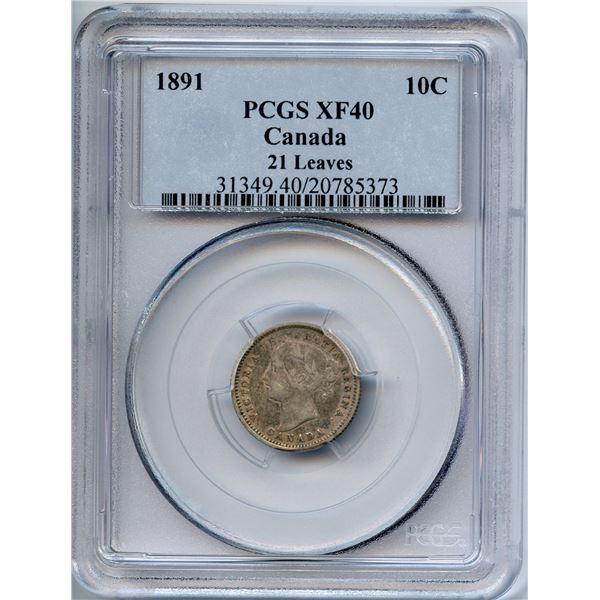 1891 Ten Cents