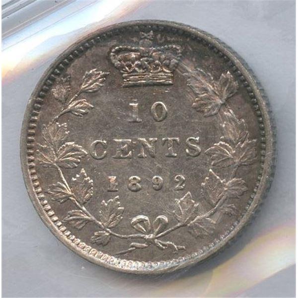 1892 Ten Cents