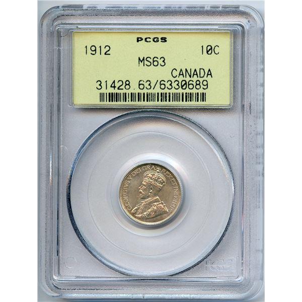 1912 Ten Cents