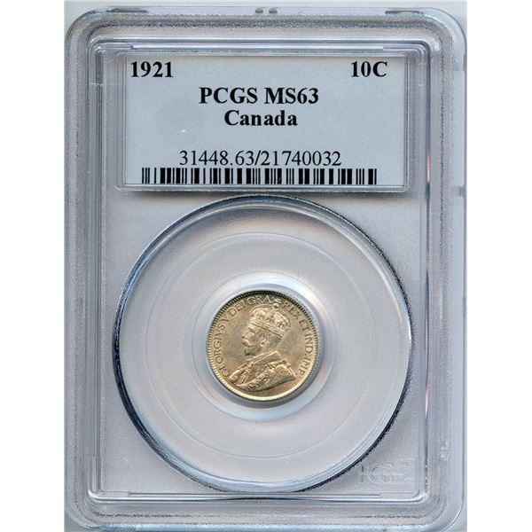 1921 Ten Cents