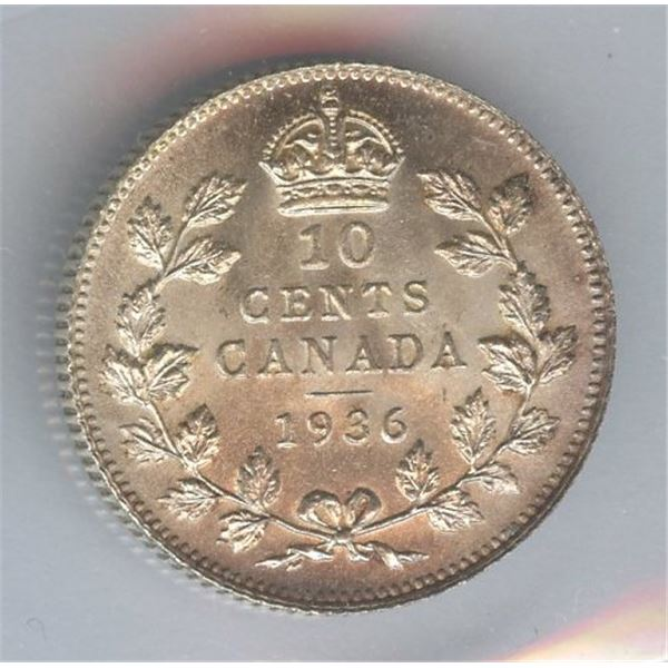 1936 Ten Cents