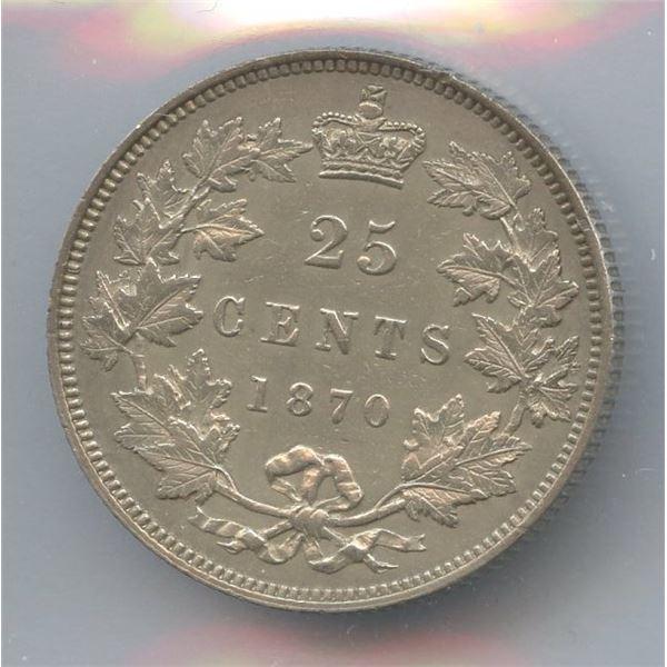 1870 Twenty-Five Cents