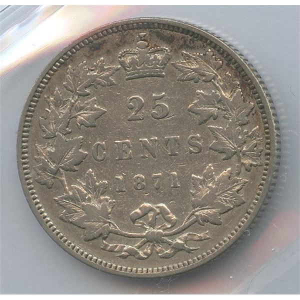 1871 Twenty-Five Cents