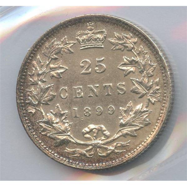 1899 Twenty-Five Cents