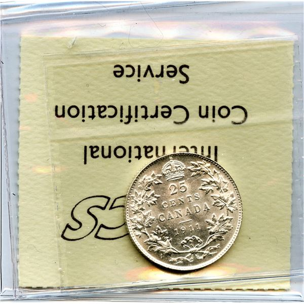 1911 Twenty-Five Cents