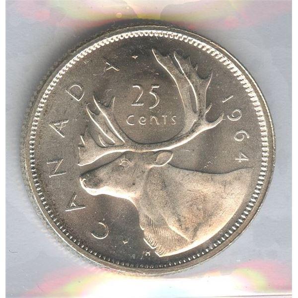 1964 Twenty-Five Cents