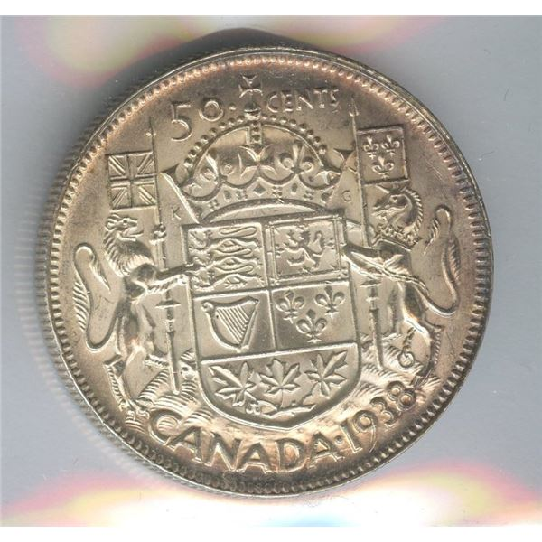 1938 Fifty Cents