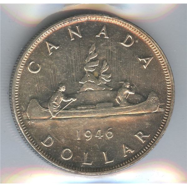 1946 Silver Dollar