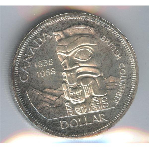 1958 Silver Dollar - Cameo