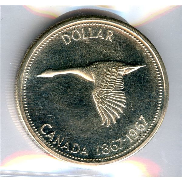 1967 Silver Dollar - Rotated Dies