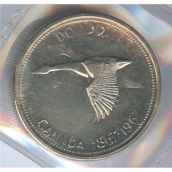 1967 Silver Dollar - Double Struck