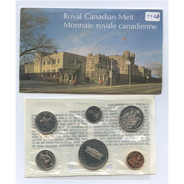 1973 Proof-like set with 25c Large Bust