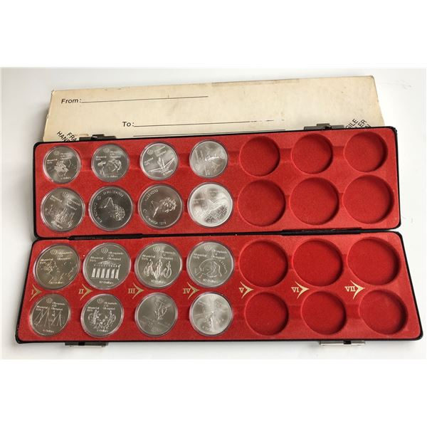 1976 Olympic Sterling Silver Set - Series 1 - 4