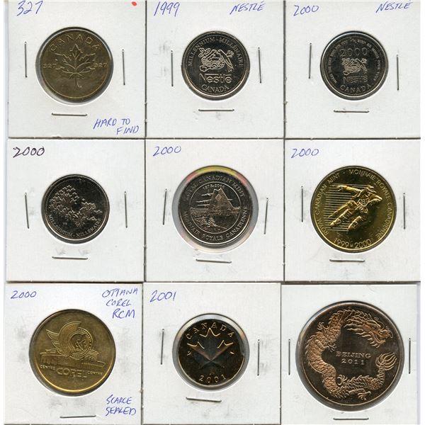 Royal Canadian Mint Token Lot, 1999-2001, 2011