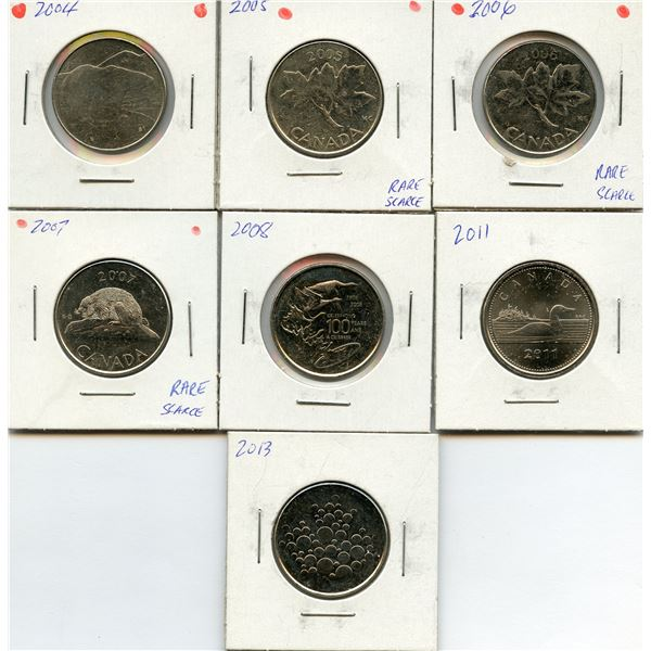 Royal Canadian Mint Token Lot, 2004-2013